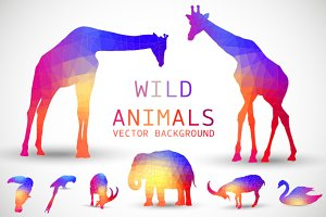 Geometric Wild Animals