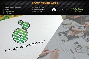 Nano Electric - Logo Template