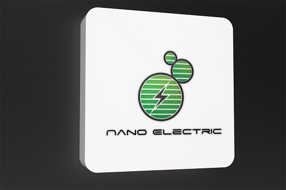 Nano Electric - Logo Template in Logo Templates - product preview 2