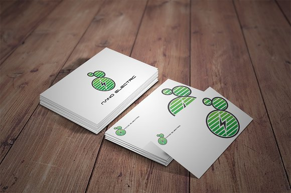 Nano Electric - Logo Template in Logo Templates - product preview 3