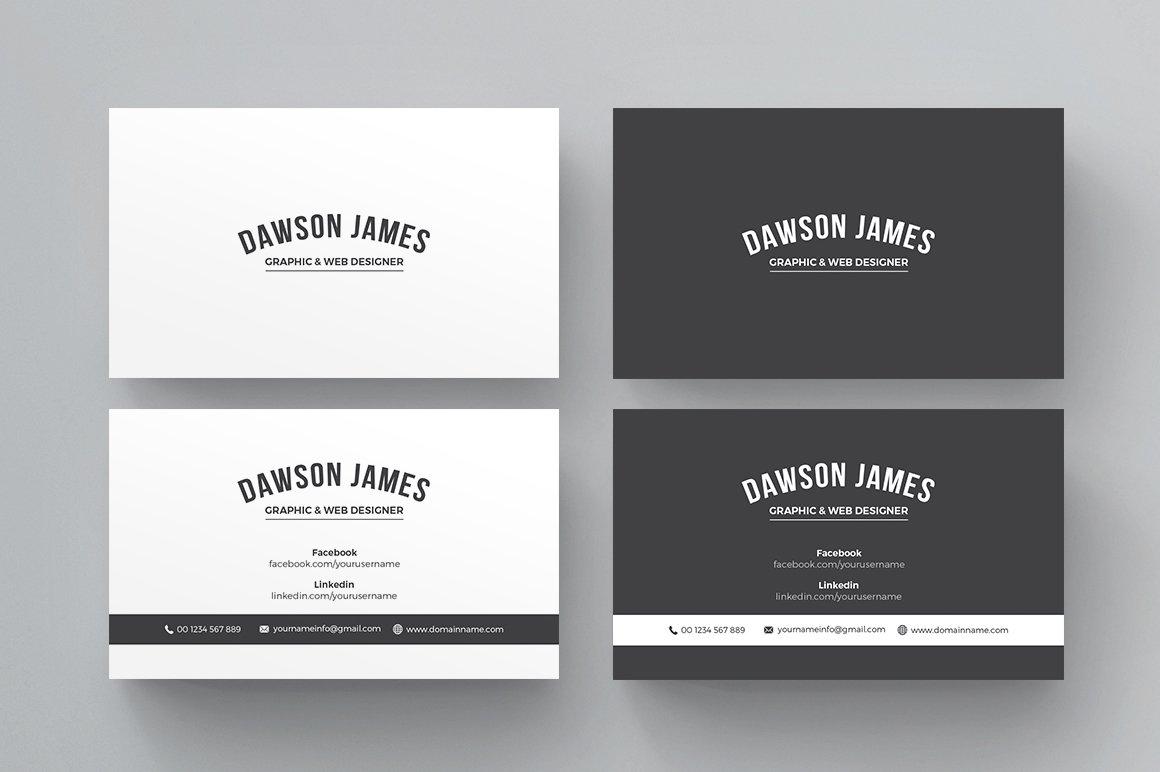 Business card business card templates creative market magicingreecefo Gallery