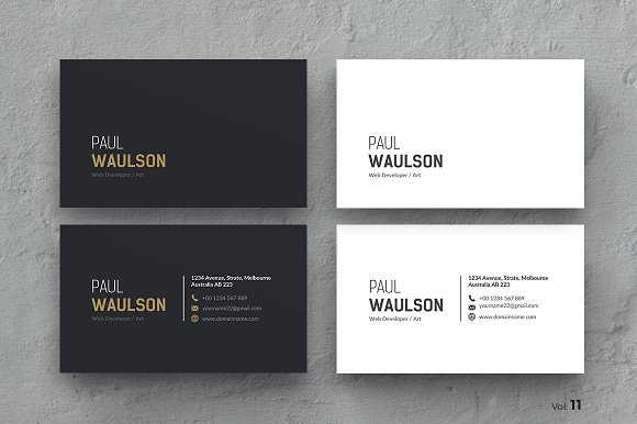Business Card Cards