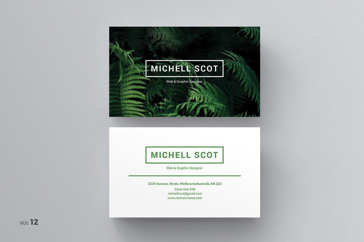 Business Card ~ Business Card Templates ~ Creative Market