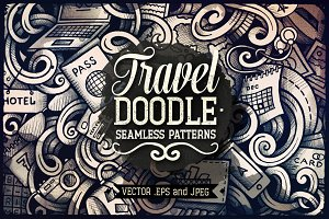 Travel Doodles Patterns