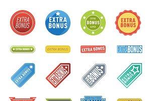 Vector extra bonus banners