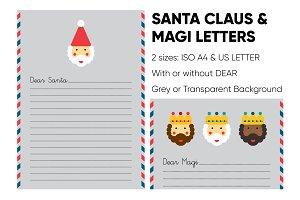 Santa Claus & Magi Letters