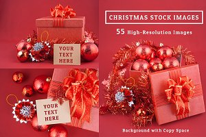 Gift Box &  Decoration Stock Image