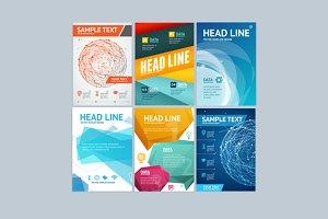 Placard, Flyer, Brochure, Poster Set