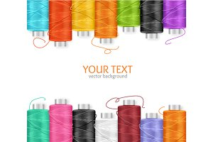 Thread Spool Banner.