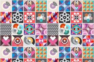 Abstract Geometric Patterns