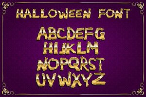 Spooky and Magical Alphabet Set