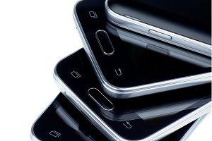 Stack of Smartphones
