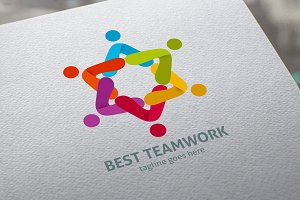 Best Teamwork Logo