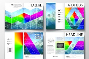A4 format brochures v.28