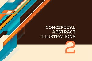 Conceptual abstract illustrations /2