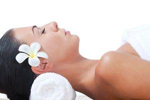 massage on white