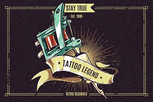 Tattoo Legend | Vector Art