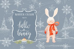 Winter Charm Vol 2 - Hello Bunny