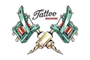 Tattoo Machine | Vector Art