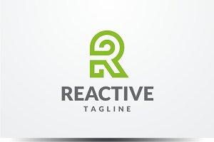 Reactive - Letter R logo