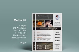 MS Word Blog Media Kit