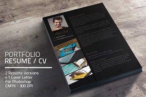 Portfolio Resume Set