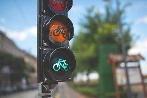Bike Ride - Green light