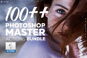 Photoshop Master - Actions Bundle