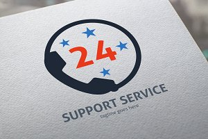 Support Service Logo