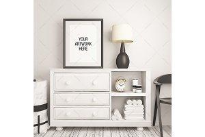 Frame Mockup Nursery Theme