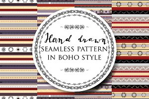 Set of boho patterns