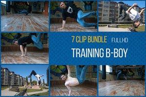 Training B-boy - 7 Video Clip Bundle