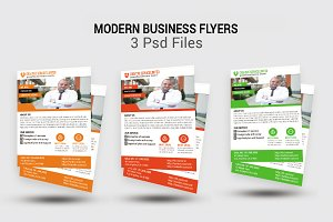 Modern Business Flyers