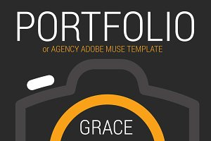 Grace. Adobe Muse Template