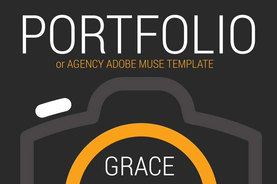 Grace  Adobe Muse Template
