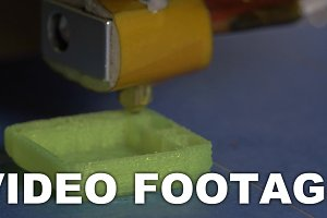 Making an object with 3D printer