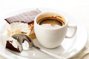 Espresso cup with Marshmallow