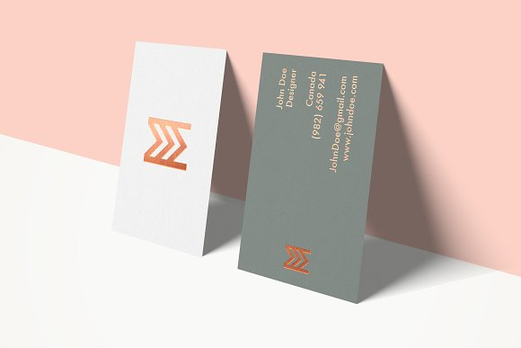 Free Business Cards Mockup Vol 3