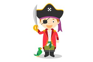 Pirate vector illustration