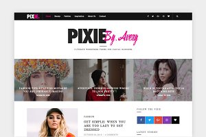 Pixie - WordPress Blog Theme