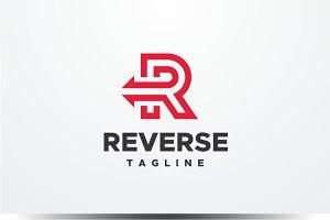 Reverse - Letter R Logo
