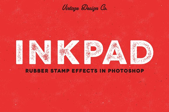 Inkpad Rubber Stamp Effects Layer Styles Creative Market