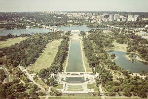 View on Jefferson Memorial