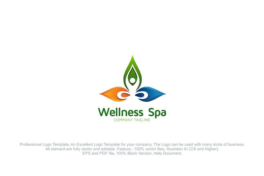 Yoga Fitness Logo ~ Logo Templates ~ Creative Market