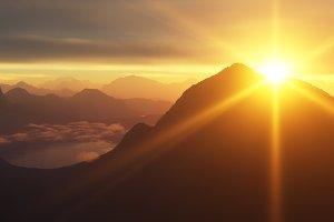 Mountain Sunrise