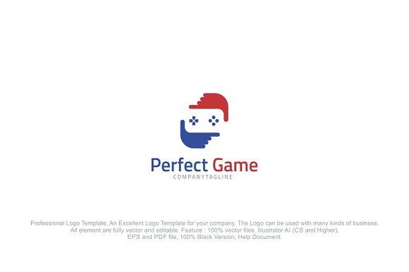 Perfect Game Logo Design Template Logo Templates Creative Market - Game design template