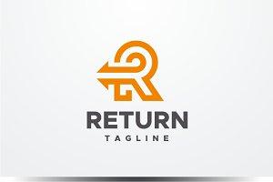 Return - Letter R Logo