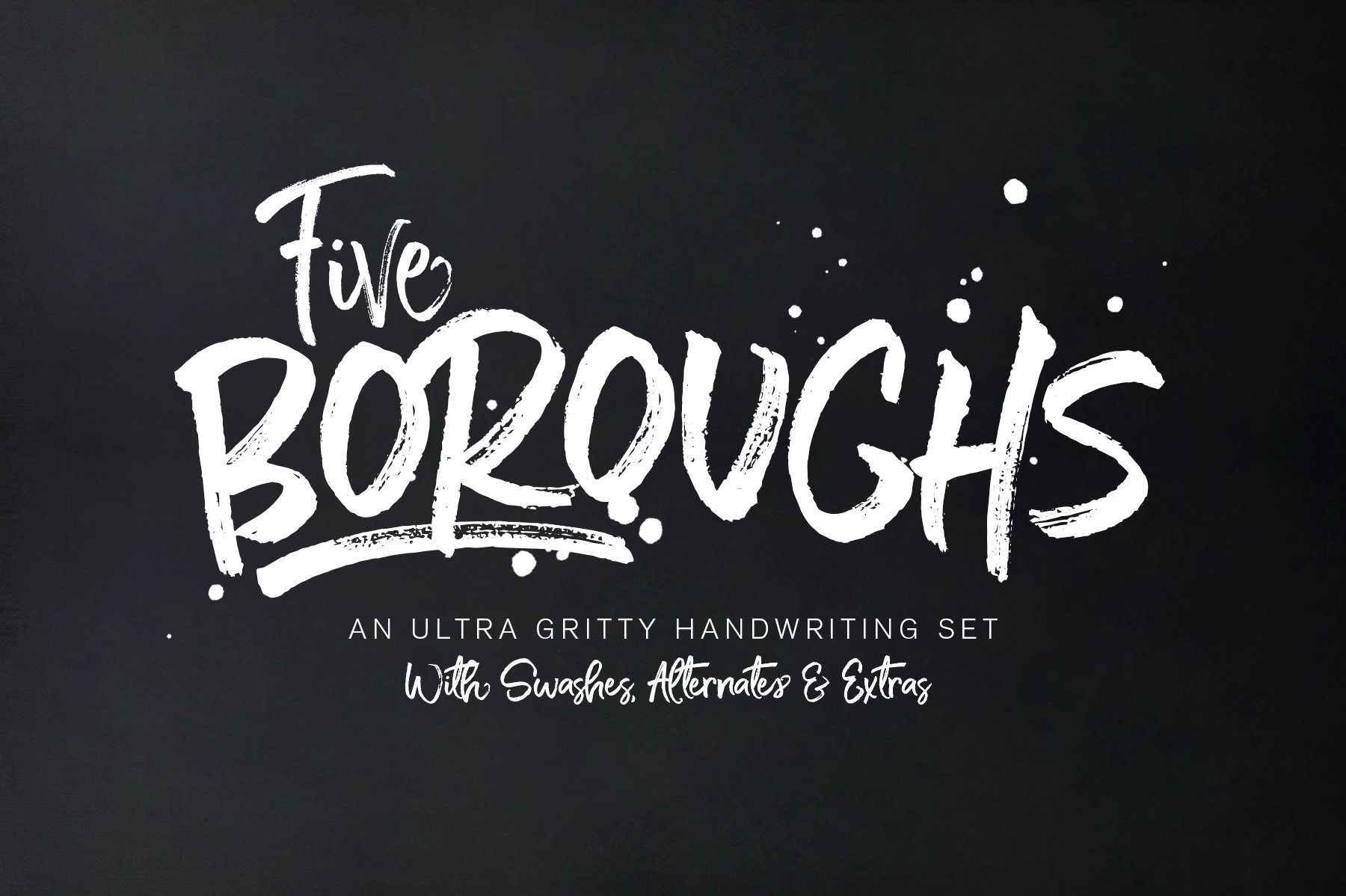 Five Boroughs Font Family Fonts Creative Market