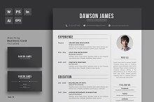 Resume/CV Word + Indesign
