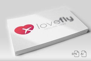 LoveFly - Logo